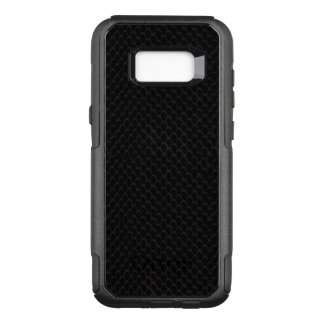 Black Snake Skin Scales Pattern OtterBox Commuter Samsung Galaxy S8+ Case