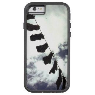 Black socks. Arty phone cover. Tough Xtreme iPhone 6 Case