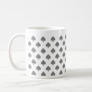 Black Spade Pattern Mugs