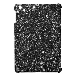 Black Sparkle Stars Cover For The iPad Mini
