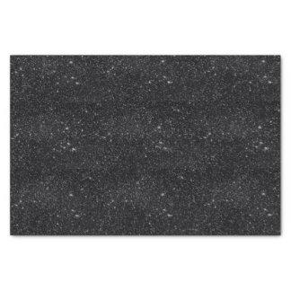 Black Sparkles Tissue Paper