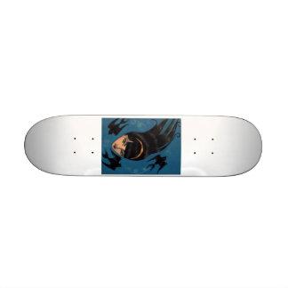 Black Sparrow Skate Deck