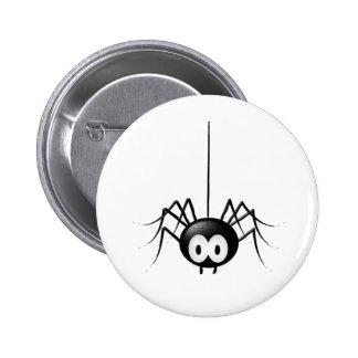 Black Spider Cute Halloween Gift 6 Cm Round Badge
