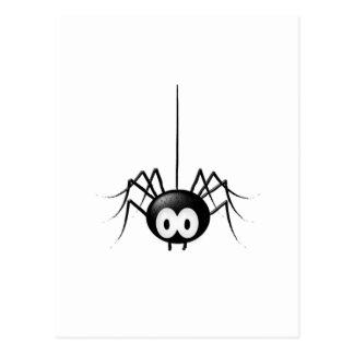 Black Spider Cute Halloween Gift Postcard
