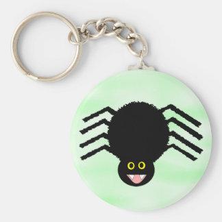 Black Spider Keychain