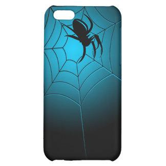 Black Spider on Web Funny Creepy iPhone 5C Case