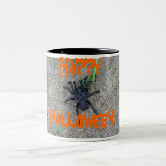 Black Spider Two-Tone Mug