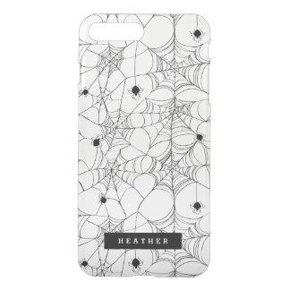 Black Spider Web Halloween iPhone 8 Plus/7 Plus Case