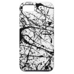 Black Splatter iPhone Case-Mate Vibe Case iPhone 5 Case
