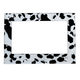 Black Spots Magnetic Frame
