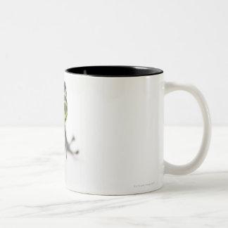 Black Spotted Green Poison Dart Frog (Ranitomeya Two-Tone Coffee Mug