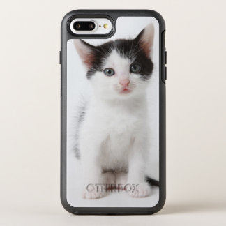 Black Spotted Kitten OtterBox Symmetry iPhone 8 Plus/7 Plus Case