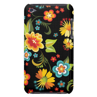 Black Spring Floral iPod Touch Case-Mate Case