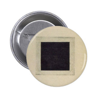 Black Square by Kazimir Malevich 6 Cm Round Badge