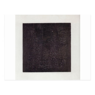 Black Square by Kazimir Malevich Postcard