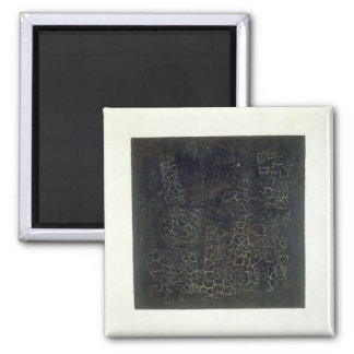 Black Square Magnet