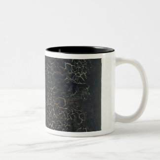Black Square Two-Tone Coffee Mug