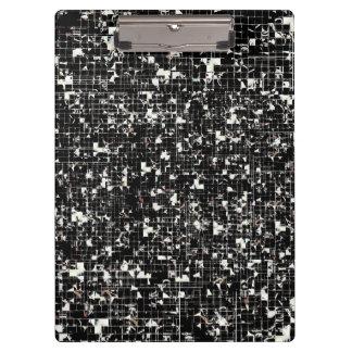 Black Squares Clipboard