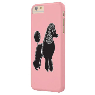 Black Standard Poodle Pink iPhone 6/6s Plus Case Barely There iPhone 6 Plus Case