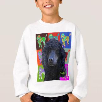 Black Standard Poodle Sweatshirt