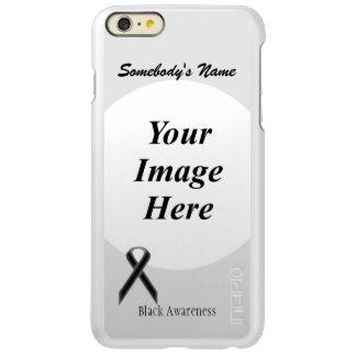 Black Standard Ribbon Template iPhone 6 Plus Case