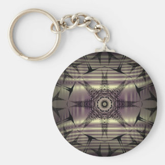 Black star keychain