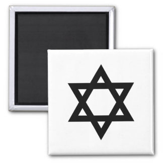 Black Star of David Magnet