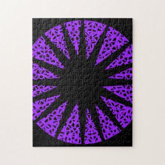 Black star puzzle. puzzle