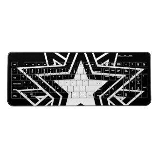 black star wireless keyboard