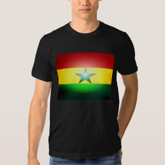 Black Stars Africa Ghana Flag T Shirt