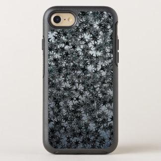 Black Steel Ninja Throwing Star Metallic Foil Look OtterBox Symmetry iPhone 8/7 Case
