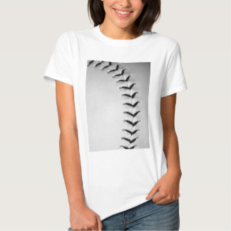 Black Stitches Baseball/Softball T-shirt