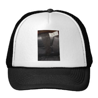 BLACK STOCKINGS TRUCKER HATS