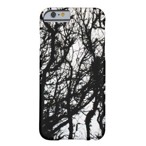 Black Stone Rustic Rigid Tough Wall Art Fashion Na iPhone 6 Case
