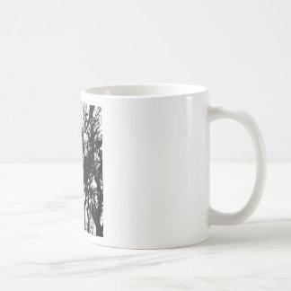 Black Stone Rustic Rigid Tough Wall Art Fashion Na Coffee Mug