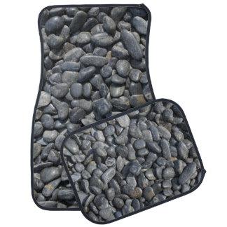 Black Stones Car Mat