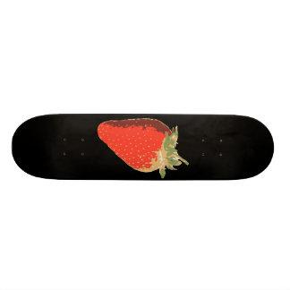 Black Strawberry Skateboard