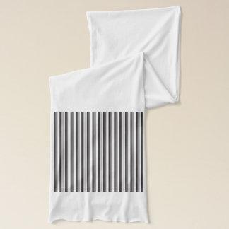 Black Stripe Scarf