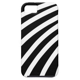 Black strips iPhone 5 case