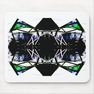Black Structural Urban Art Form Cricketdiane Mouse Pad