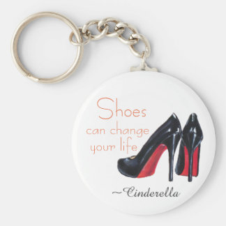 Black Stylin' High Heels Key Ring