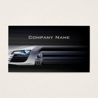 Black Stylish Automotive Business Card