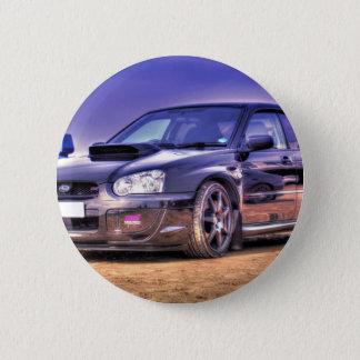 Black Subaru Impreza WRX STi 6 Cm Round Badge