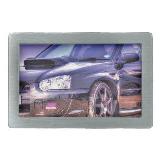 Black Subaru Impreza WRX STi Belt Buckle