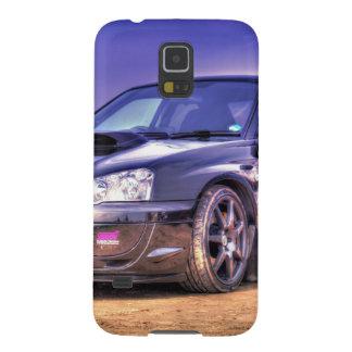 Black Subaru Impreza WRX STi Galaxy S5 Cover