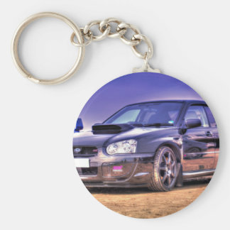 Black Subaru Impreza WRX STi Key Ring