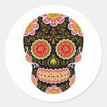 Black Sugar Skull Stickers