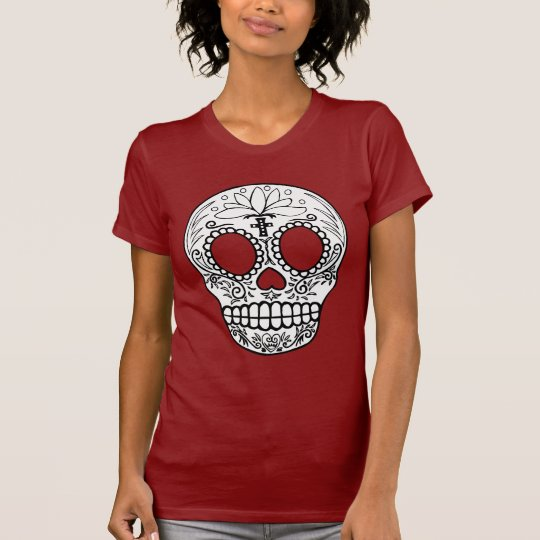 Black Sugar Skull T-shirt