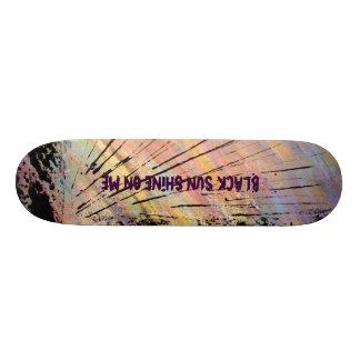 Black Sun Skateboard Deck