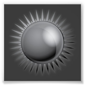black-sun-vector BLACK GREY GRAY DARK METAL METALL Photo